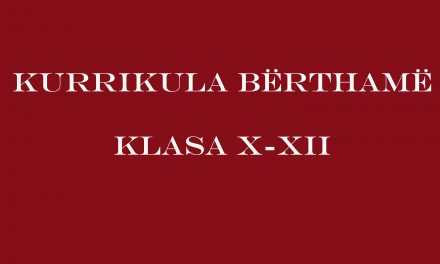 Kurrikula Bërthamë X-XII