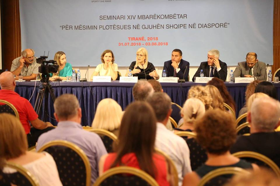 """Seminari XIV """"Për mësimin plotësues në gjuhën shqipe në diasporë"""""""
