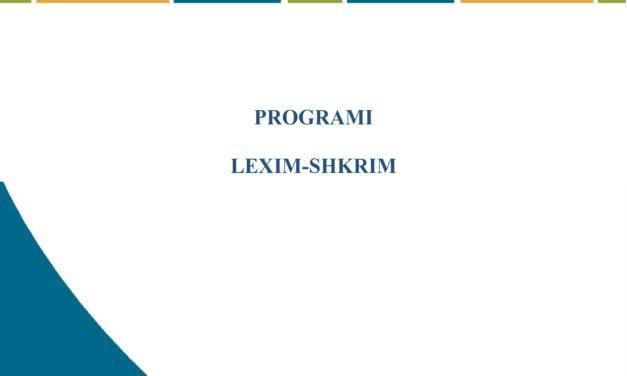 Programi i Lexim-Shkrimit