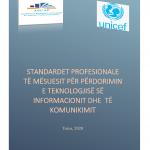 Standardet Profesionale të Mësuesit për Përdorimin e Teknologjisë së Informacionit dhe  të Komunikimit