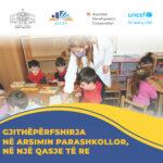 Gjithëpërfshirja në arsimin parashkollor, në një qasje të re